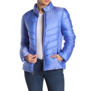 NWT Via Spiga Smocked Quilted Puffer Jacket XL
